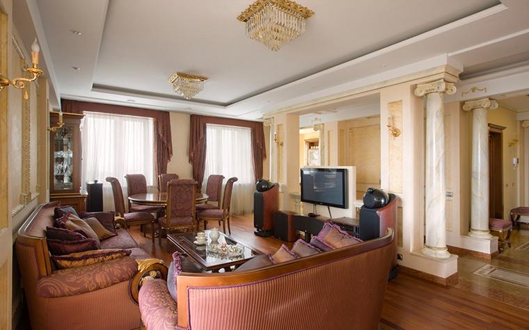 Квартира. гостиная из проекта , фото №15148