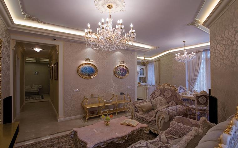 интерьер гостиной - фото № 15159