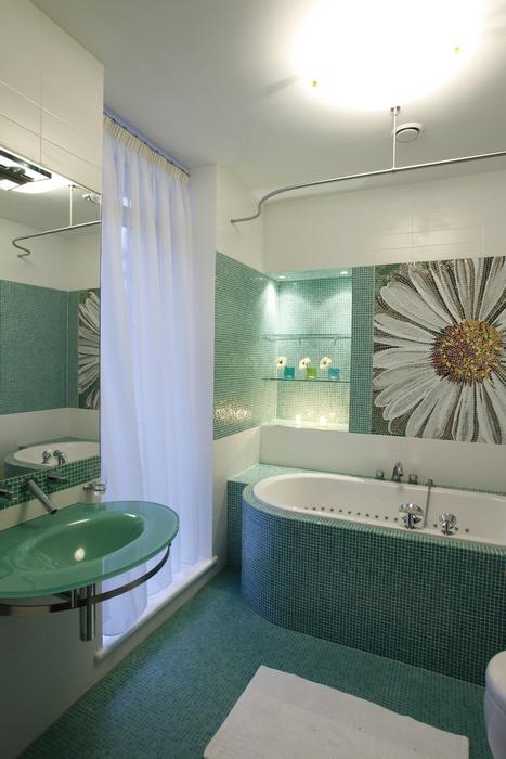 Квартира. ванная из проекта , фото №15243