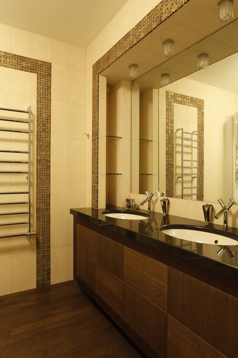 Квартира. ванная из проекта , фото №15244