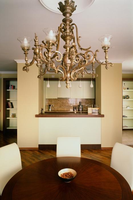 Квартира. столовая из проекта , фото №15249