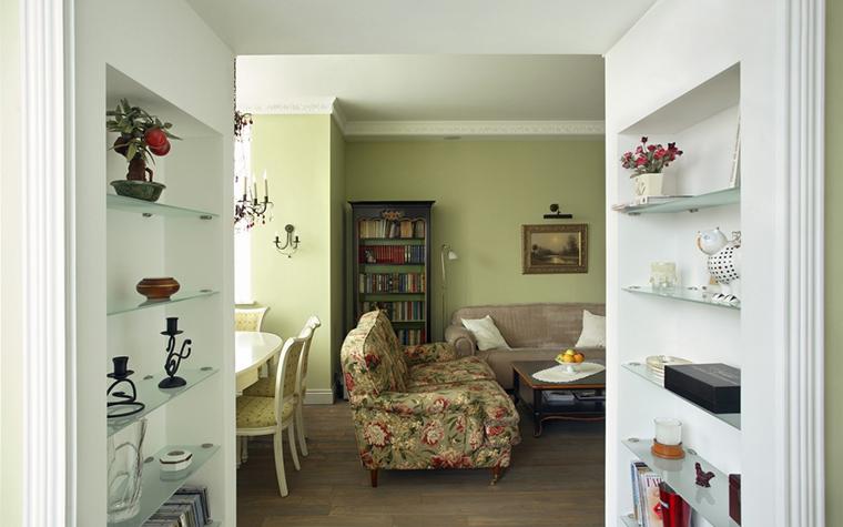 интерьер гостиной - фото № 15259