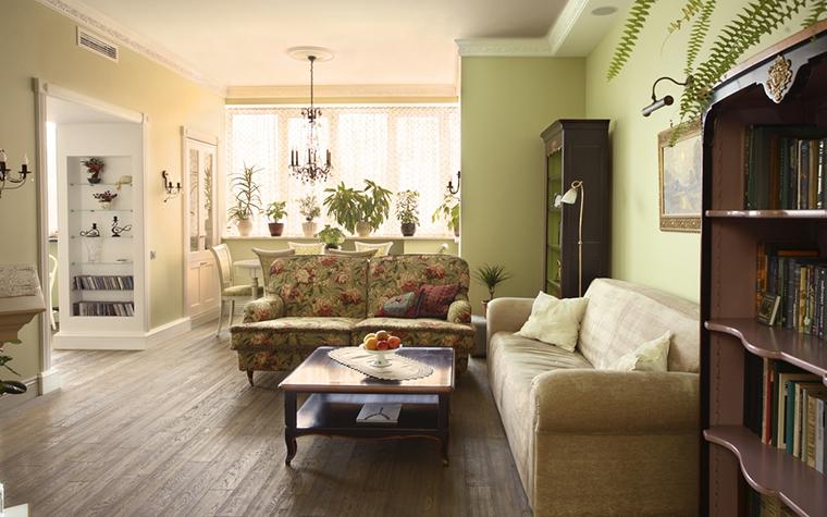 интерьер гостиной - фото № 15260
