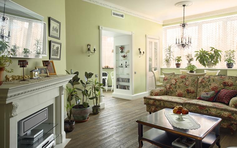 интерьер гостиной - фото № 15261