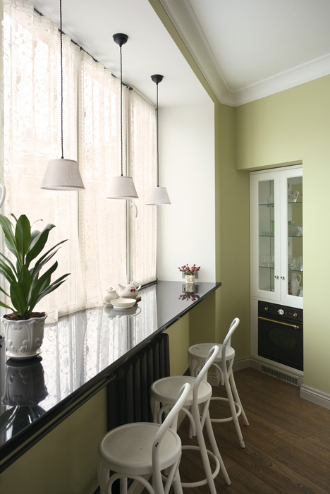 Квартира. кухня из проекта , фото №15253