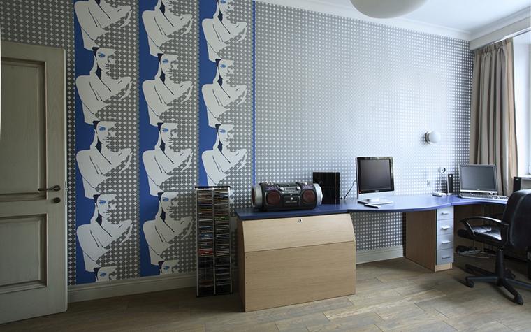 Квартира. кабинет из проекта , фото №15266