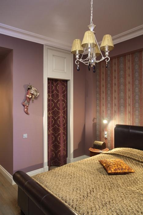 Квартира. спальня из проекта , фото №15267