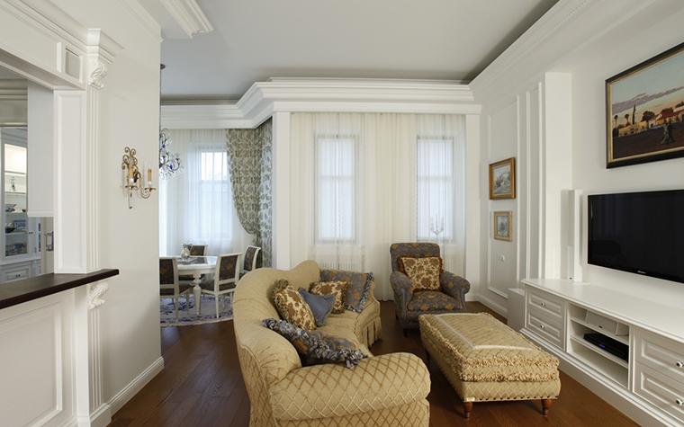 Квартира. гостиная из проекта , фото №15269