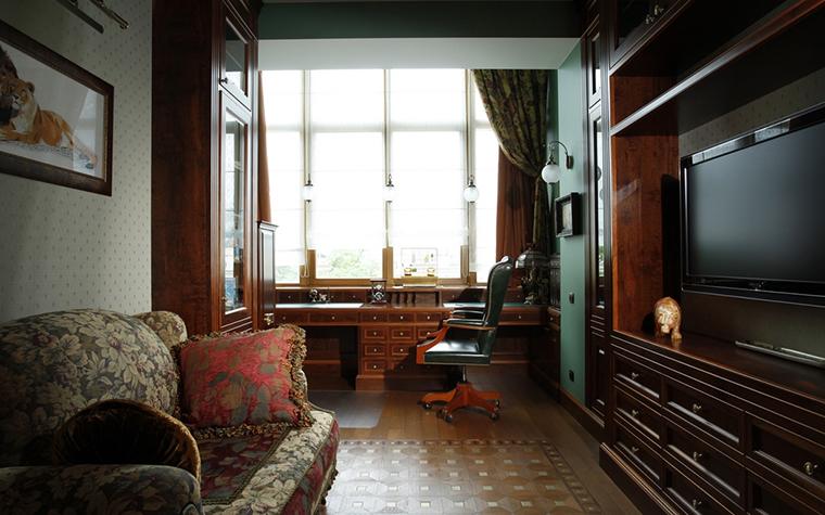 Квартира. кабинет из проекта , фото №15278