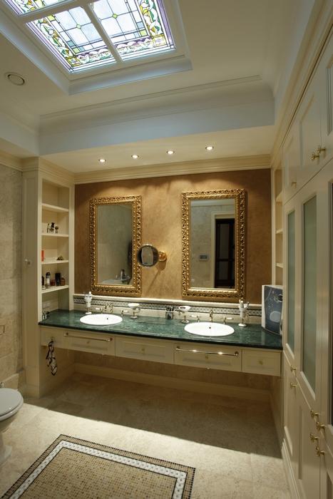 Квартира. ванная из проекта , фото №15283