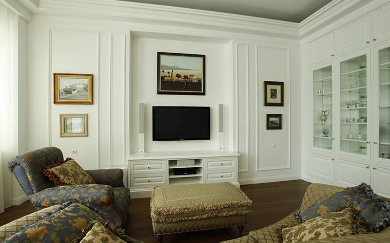 Квартира. гостиная из проекта , фото №15270