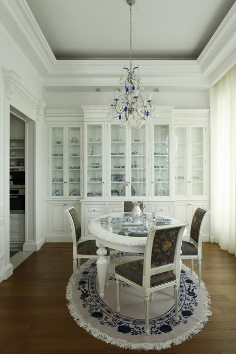 Квартира. столовая из проекта , фото №15272