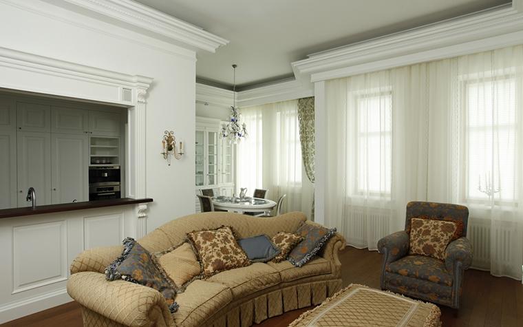 Квартира. гостиная из проекта , фото №15268