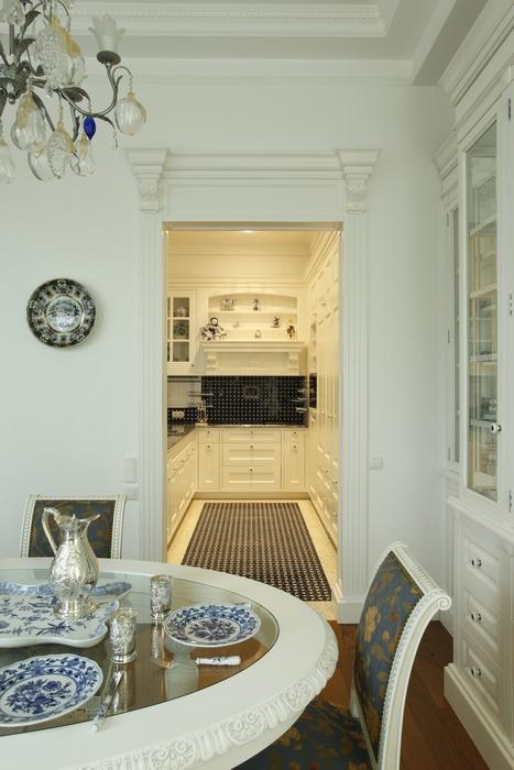 Квартира. столовая из проекта , фото №15273