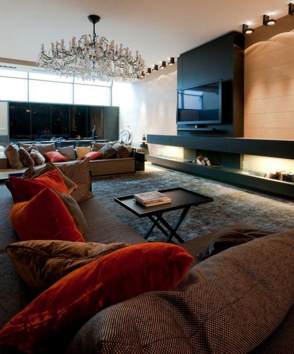 интерьер гостиной - фото № 15307