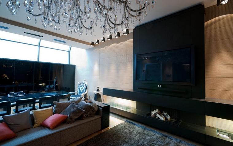интерьер гостиной - фото № 15308