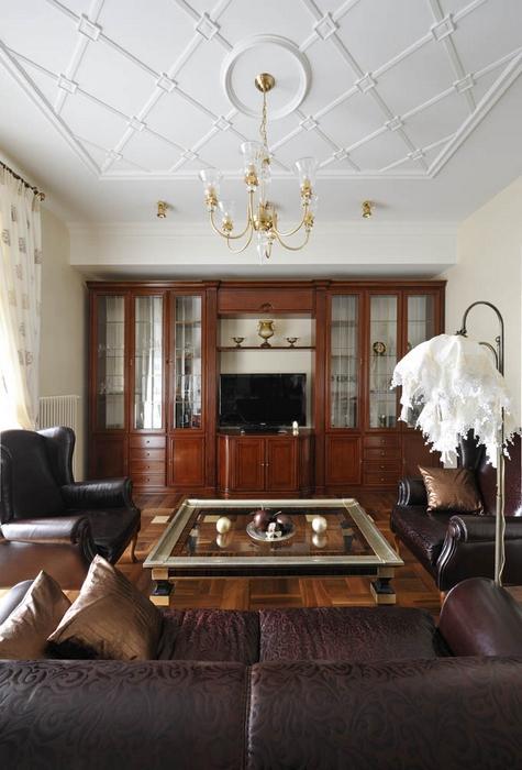 интерьер гостиной - фото № 15412
