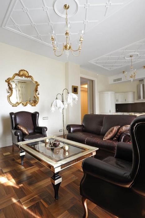 интерьер гостиной - фото № 15413