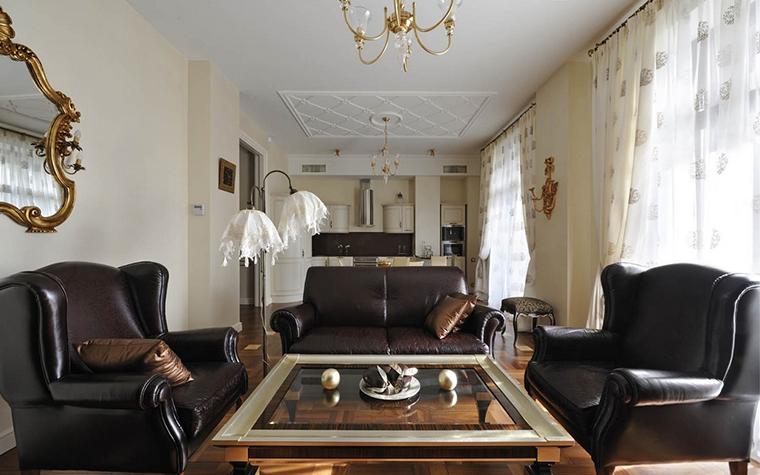 интерьер гостиной - фото № 15414
