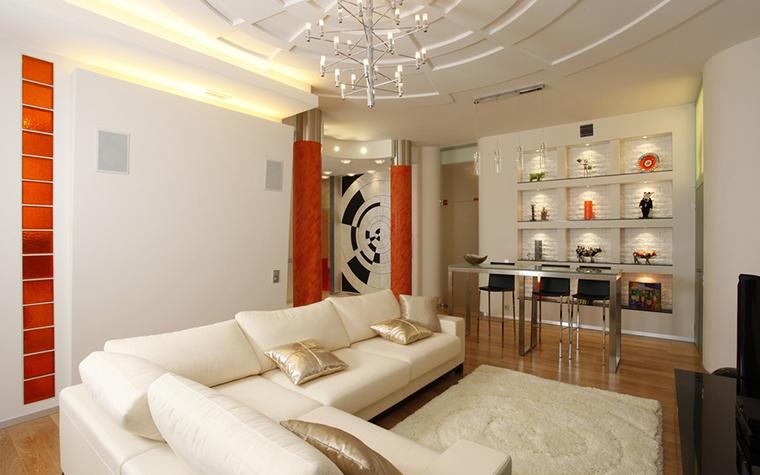интерьер гостиной - фото № 15424