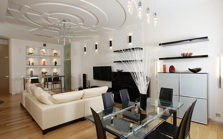 интерьер гостиной - фото № 15426