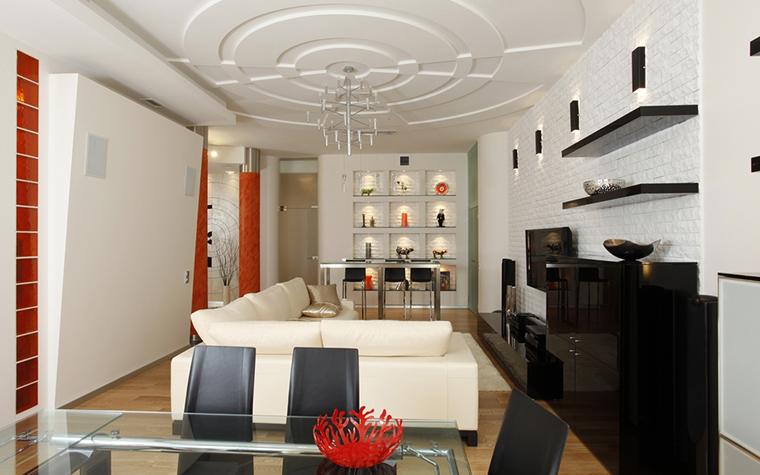 интерьер гостиной - фото № 15425