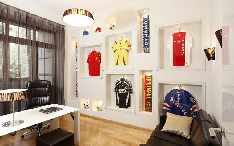 Квартира. кабинет из проекта , фото №15430