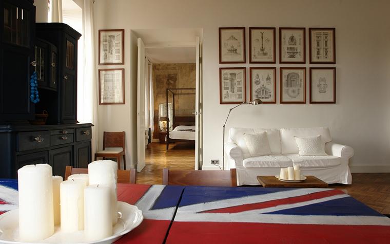 Квартира. гостиная из проекта , фото №15573
