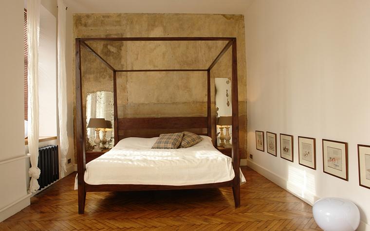 Квартира. спальня из проекта , фото №15569