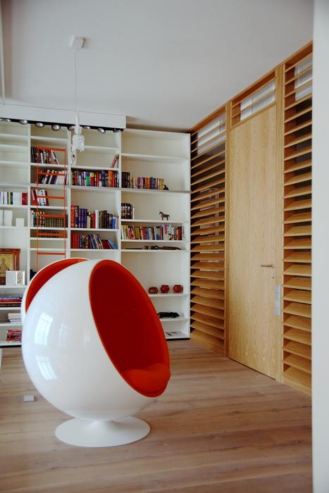 Фото № 15603 кабинет библиотека  Квартира