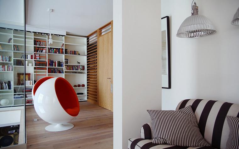 Квартира. кабинет из проекта , фото №15604