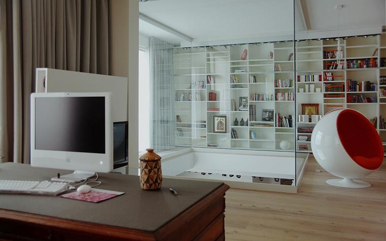 Квартира. кабинет из проекта , фото №15605