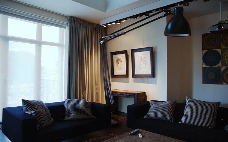 Фото № 15593 гостиная  Квартира