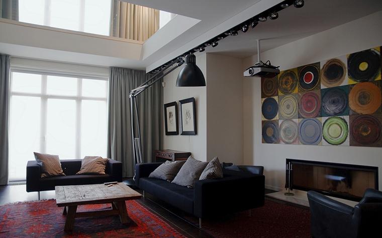 Квартира. гостиная из проекта , фото №15594