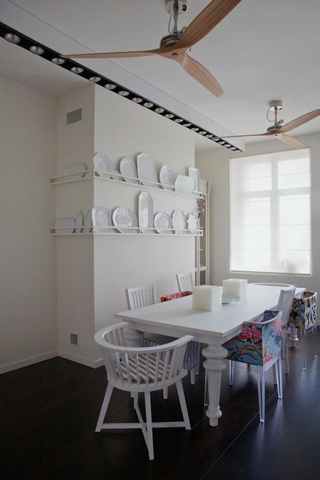 Квартира. столовая из проекта , фото №15606
