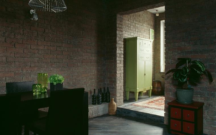 Квартира. столовая из проекта , фото №15639