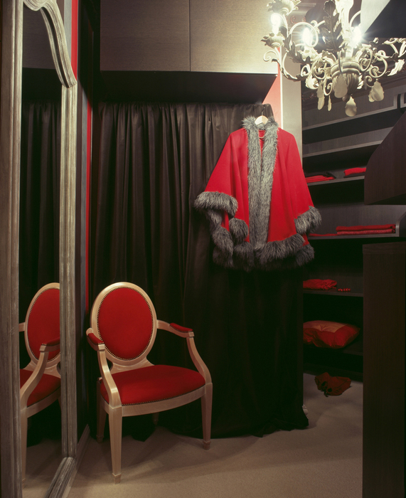 Квартира. гардеробная из проекта , фото №15796