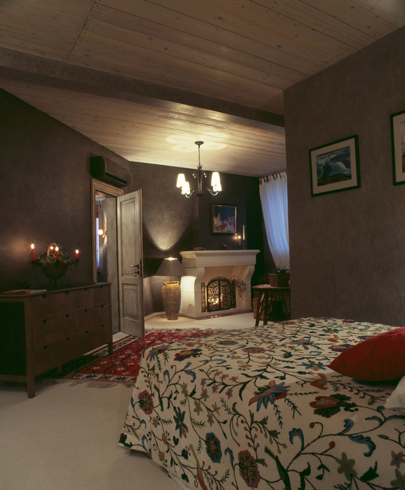 Квартира. спальня из проекта , фото №15793