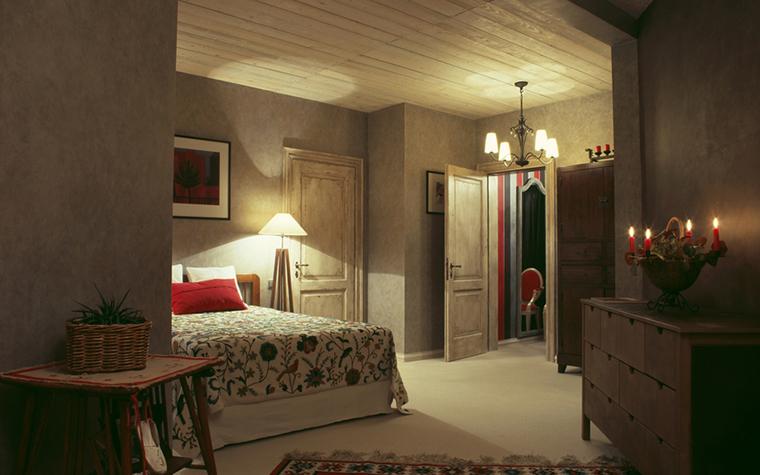 Квартира. спальня из проекта , фото №15794