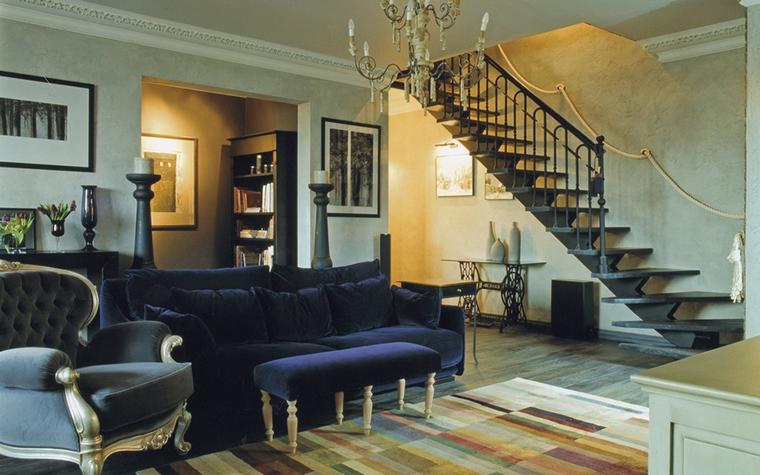 Фото № 15630 гостиная  Квартира