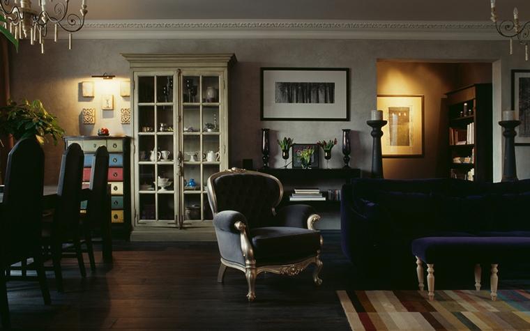 Квартира. гостиная из проекта , фото №15632
