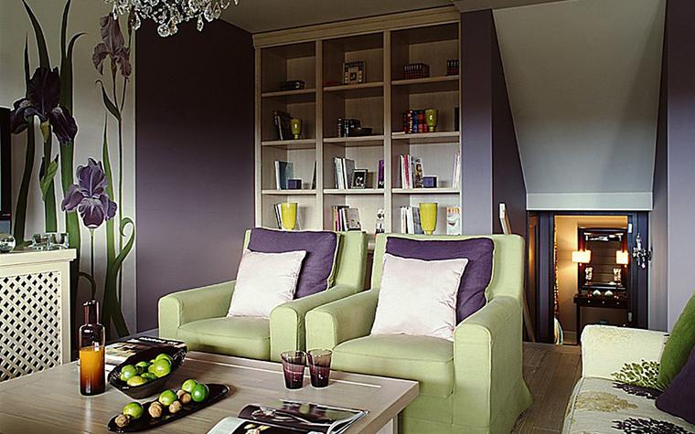 Фото № 10795 гостиная  Квартира