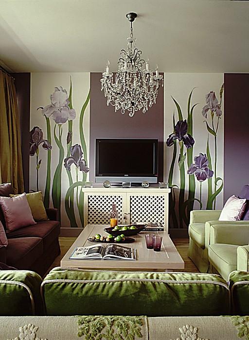 Фото № 10799 гостиная  Квартира