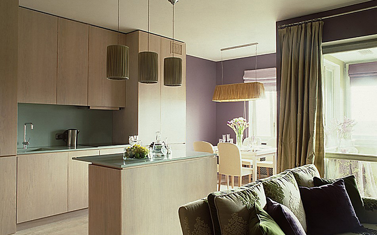Квартира. кухня из проекта , фото №10804