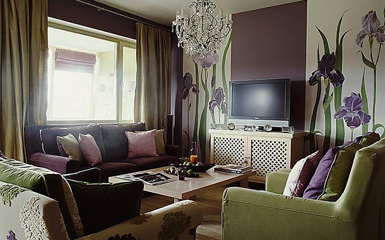 Фото № 10801 гостиная  Квартира