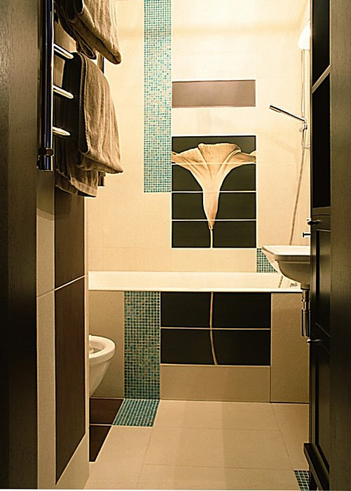 Квартира. ванная из проекта , фото №10810