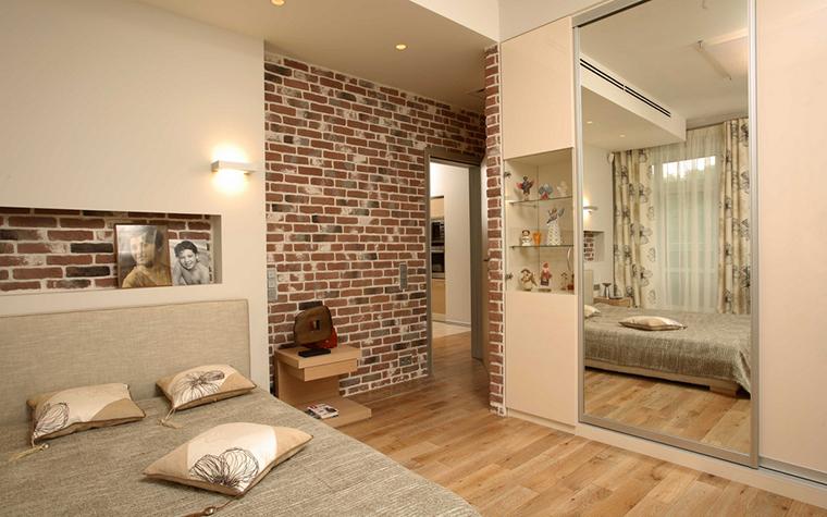 Квартира. спальня из проекта , фото №15749