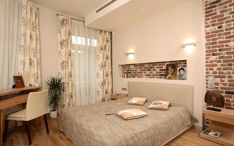 Квартира. спальня из проекта , фото №15750