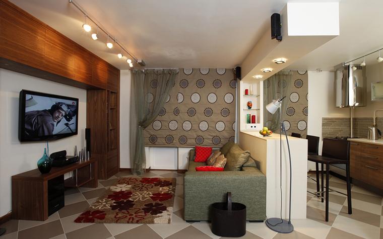 Квартира. гостиная из проекта , фото №15797