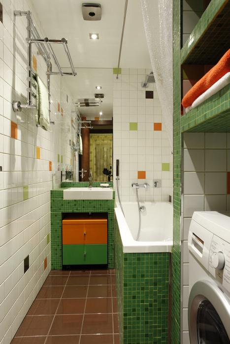 Квартира. ванная из проекта , фото №15807